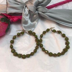 Jewelry - Beautiful green earrings 🌻